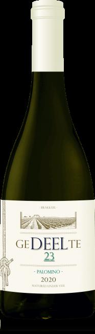 Gedeelte Wines Brakkuil Palomino wine