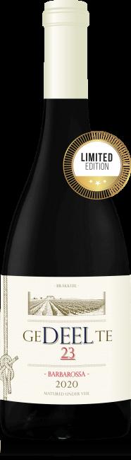 Gedeelte Wines Brakkuil Barbarossa limited edition